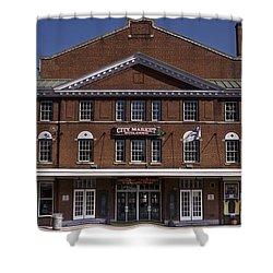 Historic Roanoke City Market Building Shower Curtain