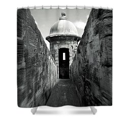 Historic San Juan Shower Curtain by Perry Webster