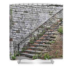 Historic Steps Shower Curtain