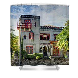 Historic Zorayda Castle Shower Curtain