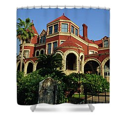 Shower Curtain featuring the photograph Historical Galveston Mansion by Tikvah's Hope