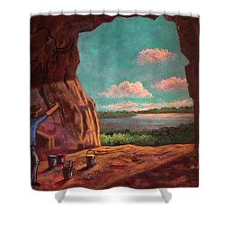 History Of Art Shower Curtain