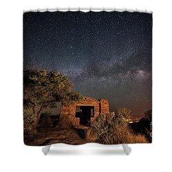 History Under The Stars Shower Curtain