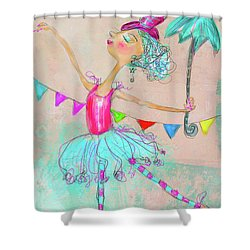 Hiwired Shower Curtain