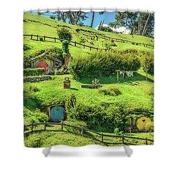 Hobbit Hills Shower Curtain