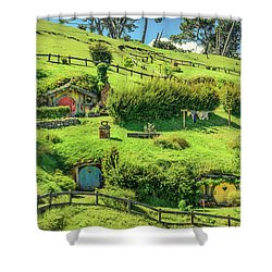 Hobbit Hills Shower Curtain