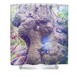Shower Curtain featuring the photograph Hobbit House by Jean OKeeffe Macro Abundance Art