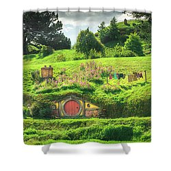 Hobbit Lane Shower Curtain