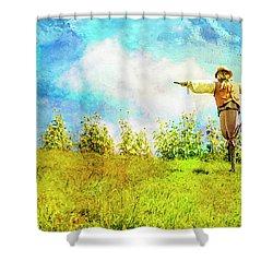 Hobbit Scarecrow Shower Curtain