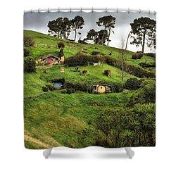 Hobbit Valley Shower Curtain