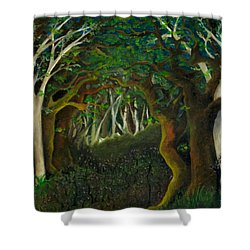 Hobbit Woods Shower Curtain