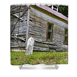 Hocking Hills Church Shower Curtain