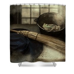 Shower Curtain featuring the photograph Hocus Pocus by Robin-Lee Vieira