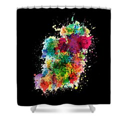Hodge Podge T-shirt Shower Curtain