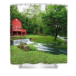 Hodgson Water Mill And Spring Shower Curtain