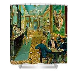 Hoffman House Bar 1890 Shower Curtain