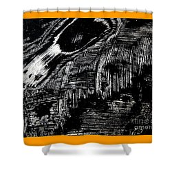 Hog Fish Two Shower Curtain by Expressionistart studio Priscilla Batzell