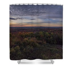 Hogback Morning Shower Curtain
