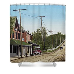 Hoggs Hollow Toronto 1920 Shower Curtain by Kenneth M  Kirsch