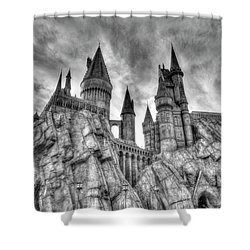 Hogwarts Castle 1 Shower Curtain by Jim Thompson