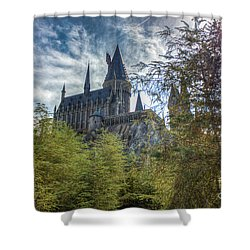 Hogwarts Castle Shower Curtain