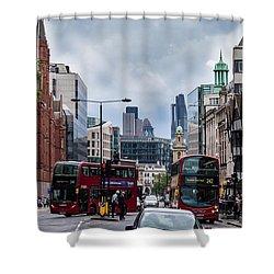 Holborn - London Shower Curtain