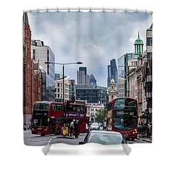 Holborn - London Shower Curtain
