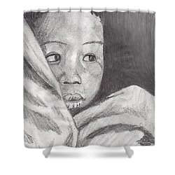 Hold Me Mom Shower Curtain
