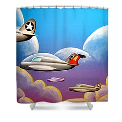 Hold On Tight Shower Curtain