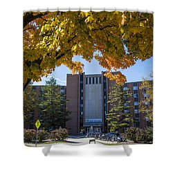 Holden Hall Cropped  Shower Curtain