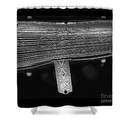 Holding Time - 2 Shower Curtain by Linda Shafer