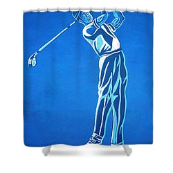 Shower Curtain featuring the photograph Hole In One ... by Juergen Weiss