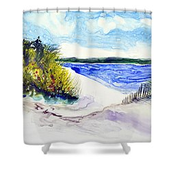 Hole In The Cove Shower Curtain