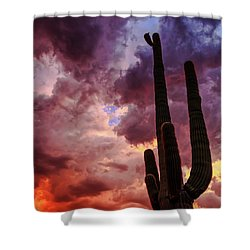 Shower Curtain featuring the photograph Hole In The Sky by Rick Furmanek