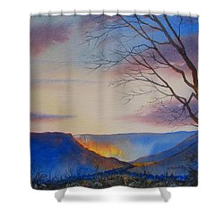 Hole Of Horcum Shower Curtain