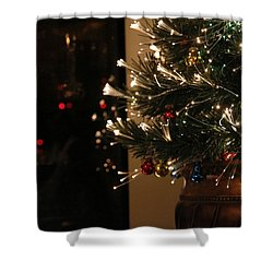 Holiday Attire Shower Curtain