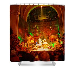 Holiday Decor In The Basilica Shower Curtain