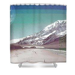 Holiday Shower Curtain by Kathryn Cloniger-Kirk