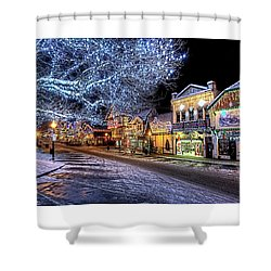 Holiday Village, Leavenworth, Wa Shower Curtain