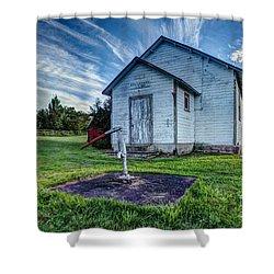 Holleford Schoolhouse Shower Curtain