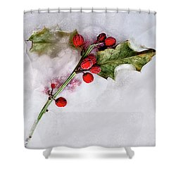 Holly 4 Shower Curtain