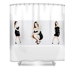 Holly 5 Shower Curtain