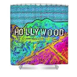 Hollycolorwood Shower Curtain