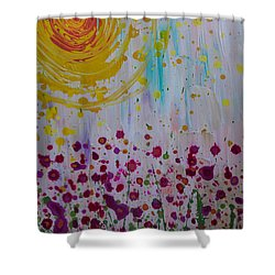 Hollynation Shower Curtain