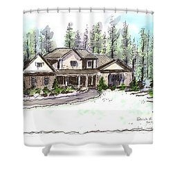 Holly's Place Shower Curtain