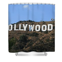 Hollywood Shower Curtain by Marna Edwards Flavell