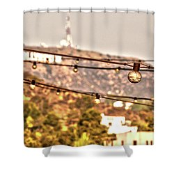 Shower Curtain featuring the photograph Hollywood Sign On The Hill 6 by Micah May