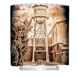 Hollywood Water Tower Shower Curtain