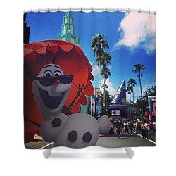Olafs Vacation  Shower Curtain