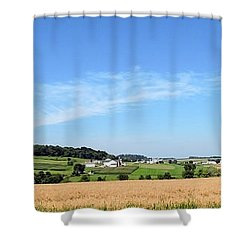 Holmes County Ohio Shower Curtain